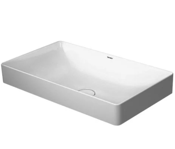 Durasquare Countertop Basin 600x345 RRP £469