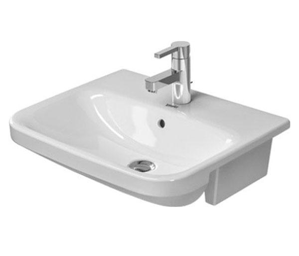 Durastyle Semi Recessed Basin 550x455mm