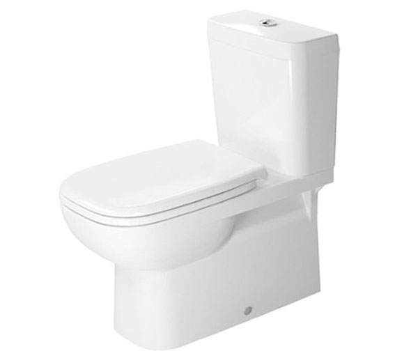 Duravit D-Code Close Coupled WC W360xD695mm