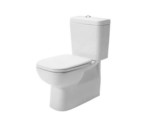 Duravit D-Code Close Coupled WC W355xD650mm