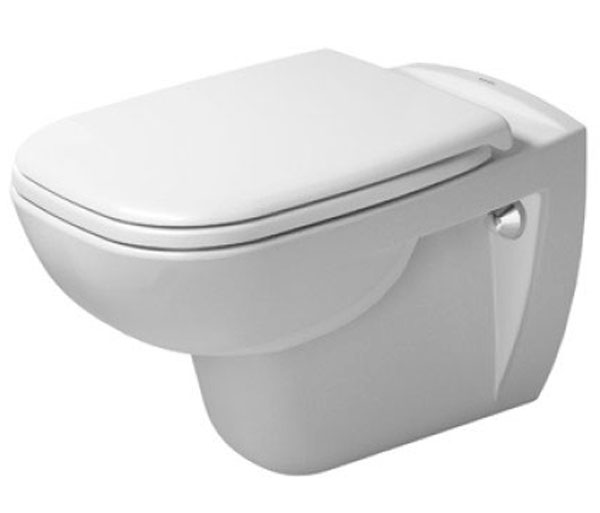 Duravit D-Code Wall Hung WC W355xD545mm