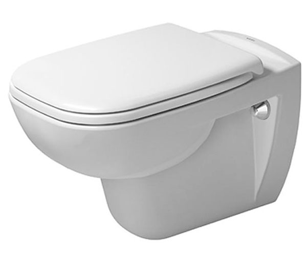 Duravit D-Code Rimless WC W355xW545mm