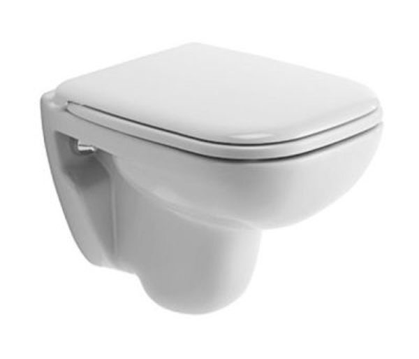 Duravit D-Code Compact WC W350xD480mm