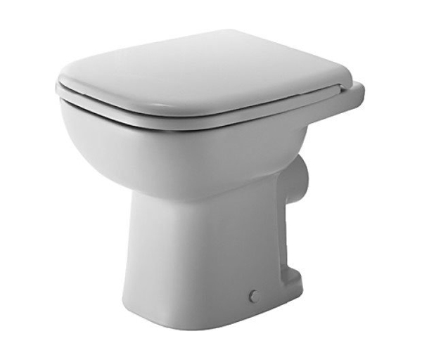 Duravit D-Code Back To Wall WC W350xD480mm