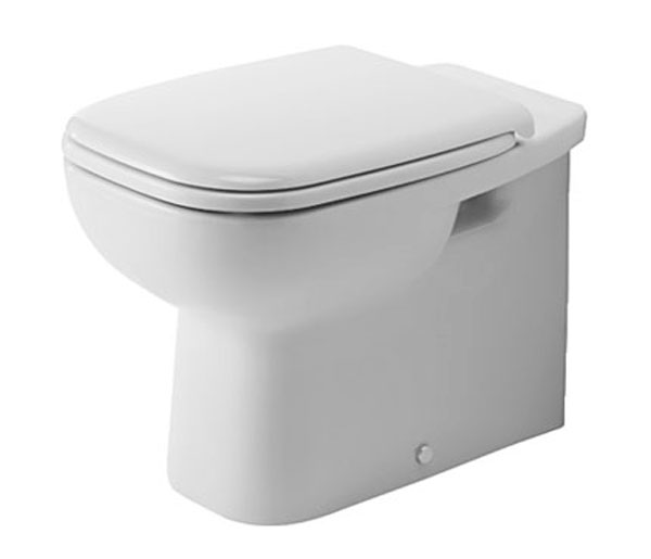 Duravit D-Code Back to Wall WC W355xD560mm