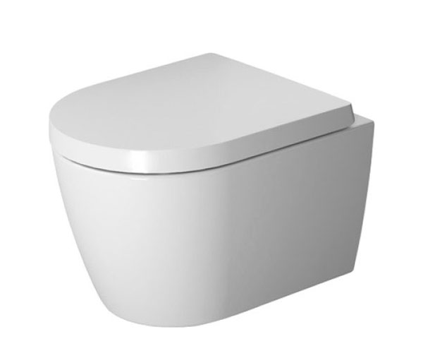 ME by Starck Rimless Wall Hung WC + Seat