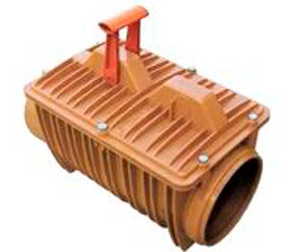 Backwater Valve 200mm Single Flap