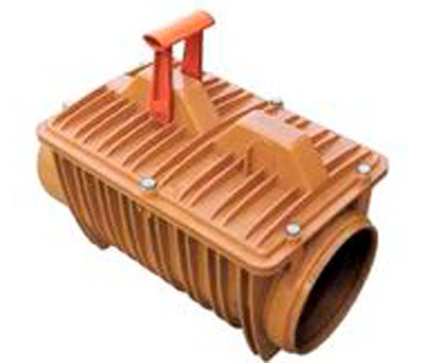 Backwater Valve 200mm Double Flap