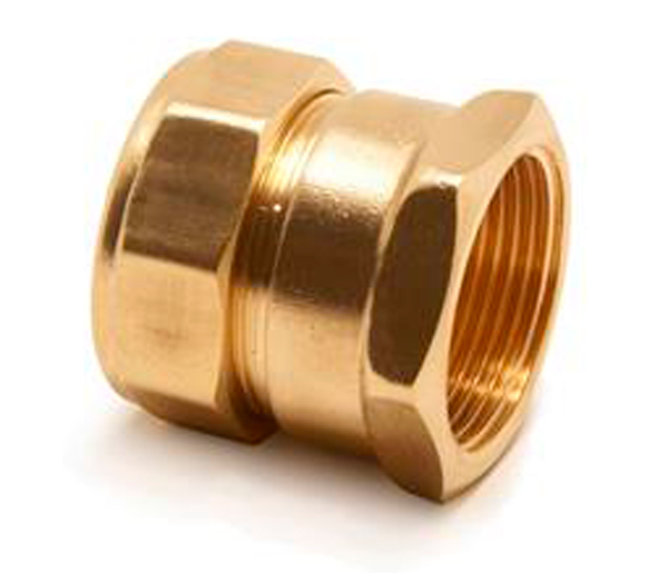 Straight Compression Coupling F/I 35X11/4\