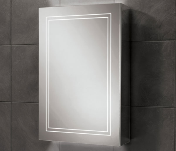 HIB Edge Mirror Cabinet  500x700mm