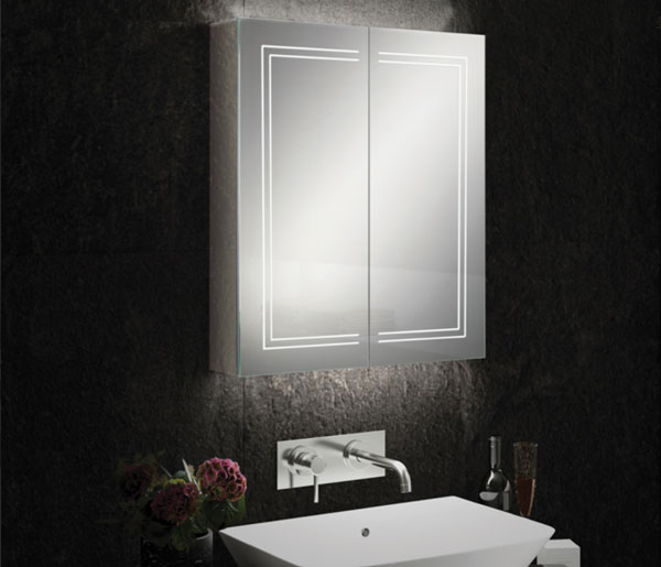 HIB Edge Mirror Cabinet  600x700mm
