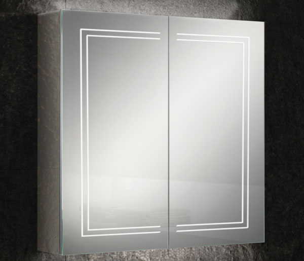 HIB Edge Mirror Cabinet  800x700mm