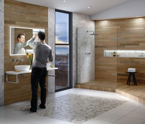 HIB Vanquish Mirror Cabinet 1230x730mm