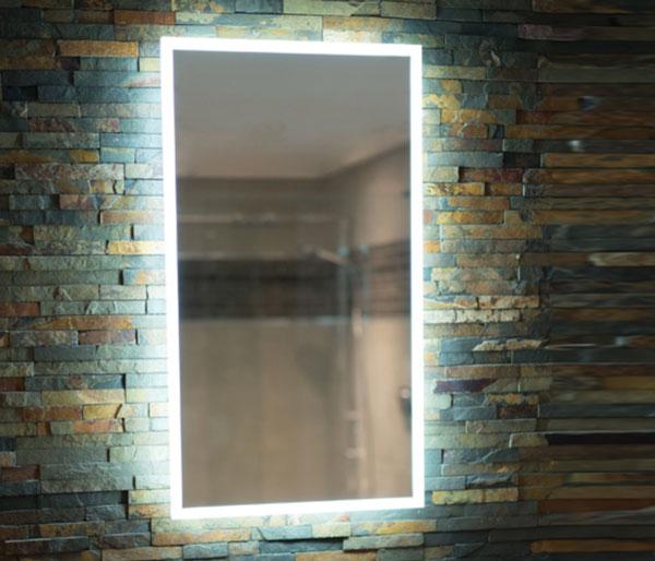 HIB Globe LED Illuminated Mirror 450x800mm