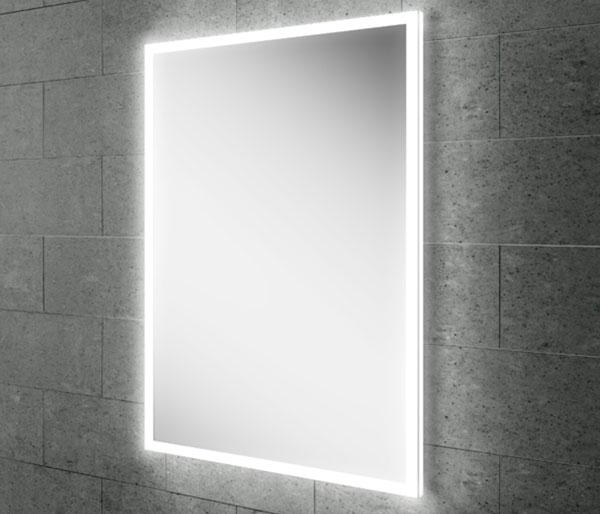 HIB Globe Illuminated LED Mirror 500x700mm