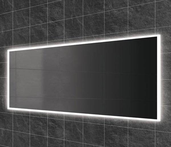 HIB Globe Illuminated Mirror 1400x600mm