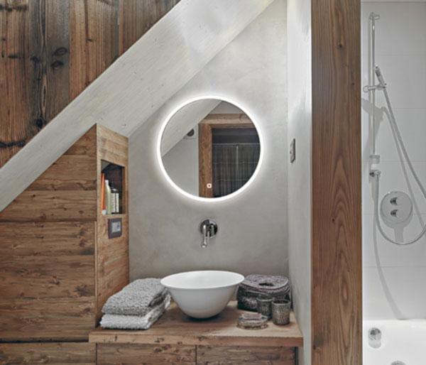 HIB Sphere Illuminated Mirror 600mm
