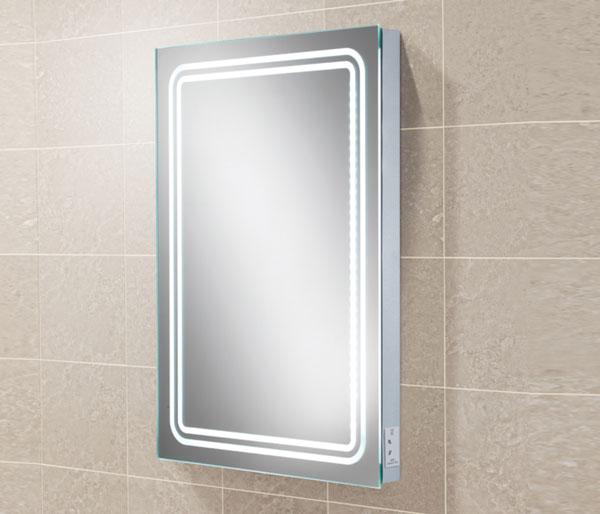 HIB Rotary Mirror & charging socket 450x800mm