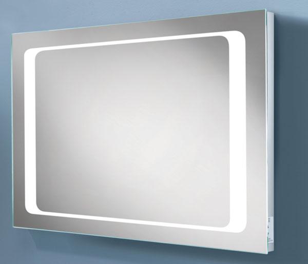 HIB Axis Mirror & charging socket 450x800mm