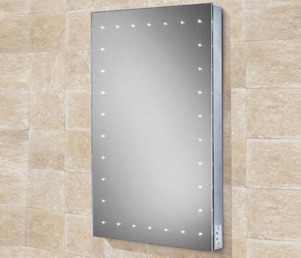 HIB Astral Mirror & charging socket 500x700mm