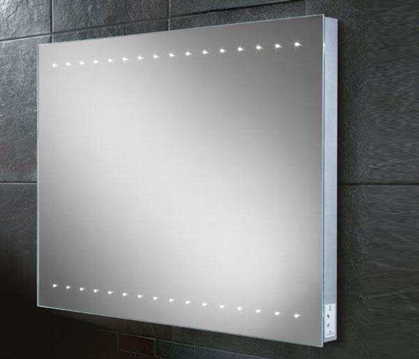 HIB Epic Mirror & charging socket 450x800mm