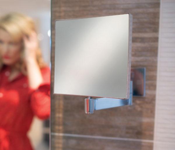 HIB Helix Magnifying Mirror 170x170mm