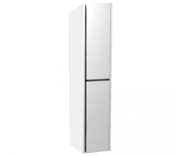Alma 300mm Tall Storage Unit Gloss White