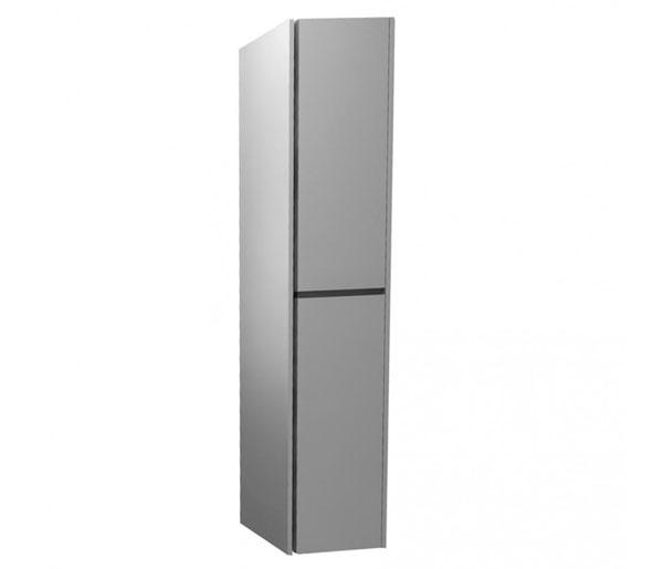 Alma 300mm Tall Storage Unit Gloss Grey