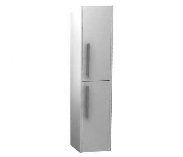 Arco 300mm Tall Storage Unit In Gloss White