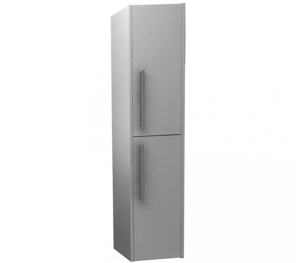 Arco 300mm Tall Storage Unit In Gloss Grey