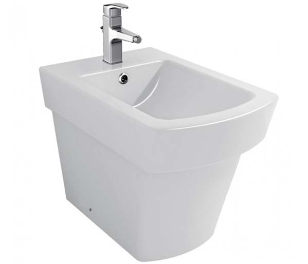 Bloque Floor Standing Bidet 1th