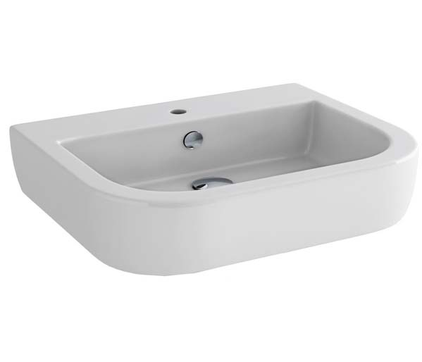 Essence 400mm Cloakroom Basin 1 tap hole