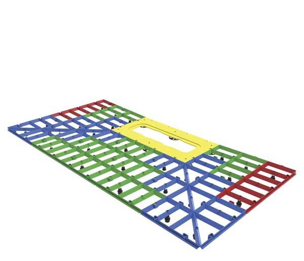 Aqua-Grade Linear 400mm 2 Falls 1350x1050mm