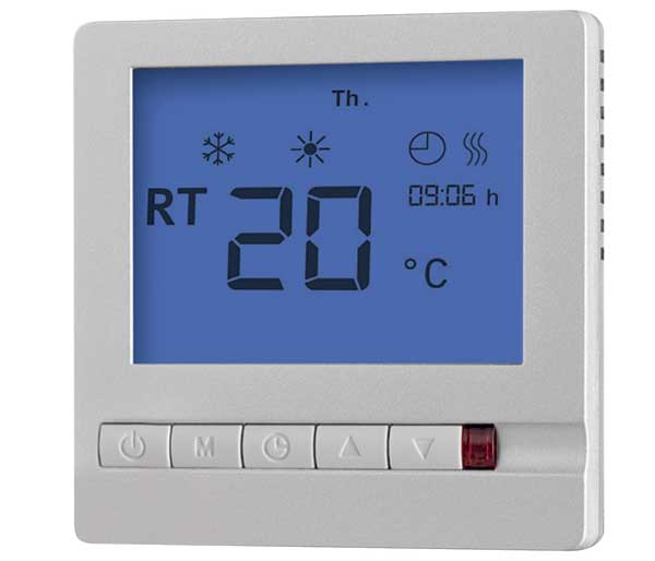 Impey Aqua-Mat Digi Thermostat/Timer Silver