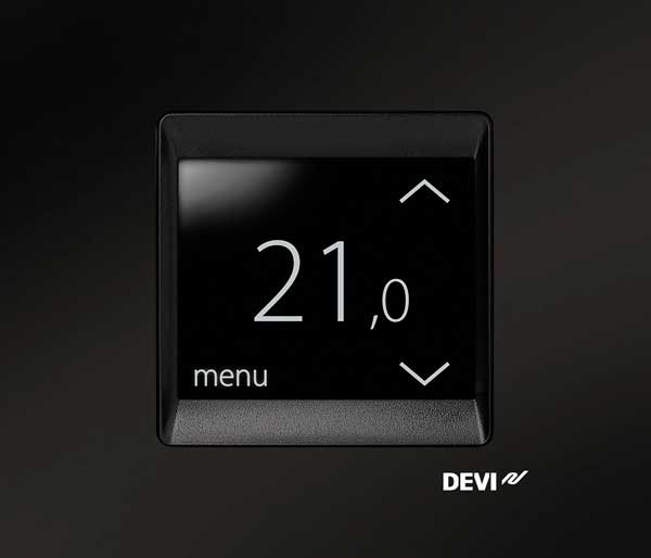 Impey Aqua-Mat Touch Thermostat/Timer Black