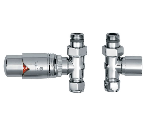 JIS TRV Straight Radiator Valves