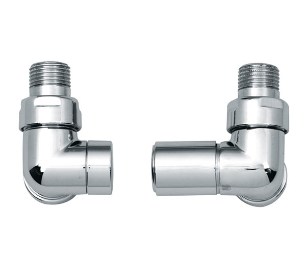 JIS Profile Angled Radiator Valves