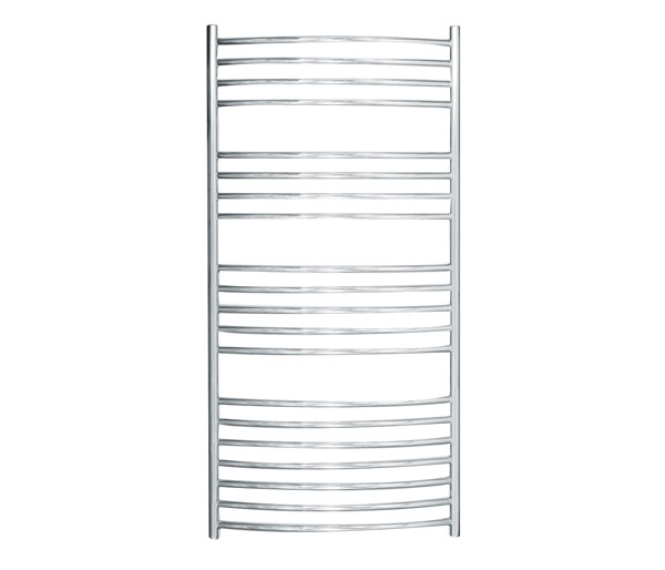 Adur 620x1250mm Towel Rail Sq Element