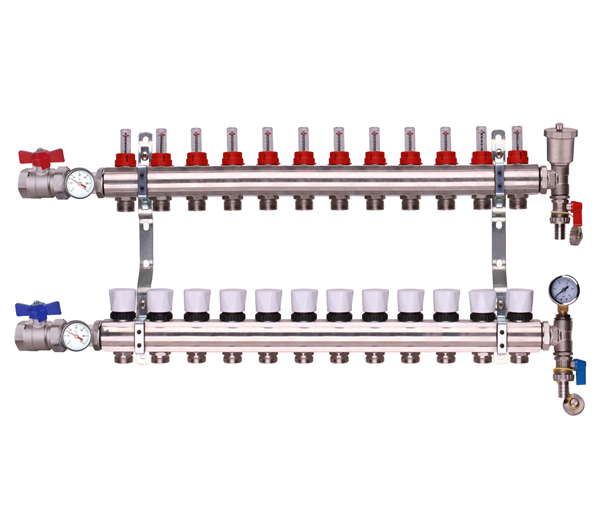 Keyplumb 12 Circuit UFH Manifold Kit 1\