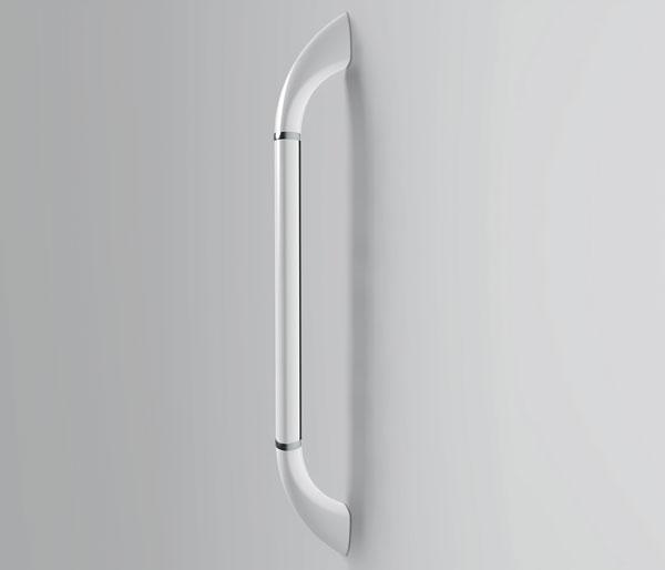 Kinedo Vertical Grab Bar White 450mm