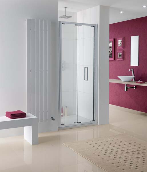 Lakes Coastline Bergen Bifold Door 700mm Silv