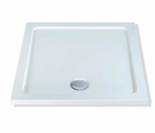 40mm Stone Resin Shower Tray 760x760mm