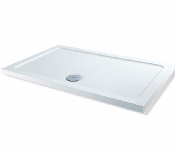 40mm Stone Resin Shower Tray 1100x800mm