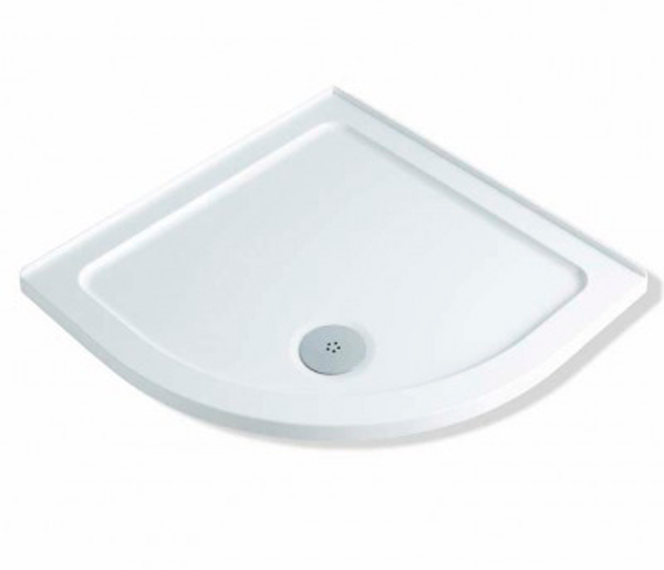 40mm Stone Resin Quadrant Shower Tray 800x800