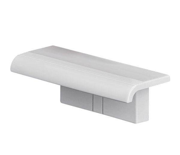 Arsis White Shower Shelf