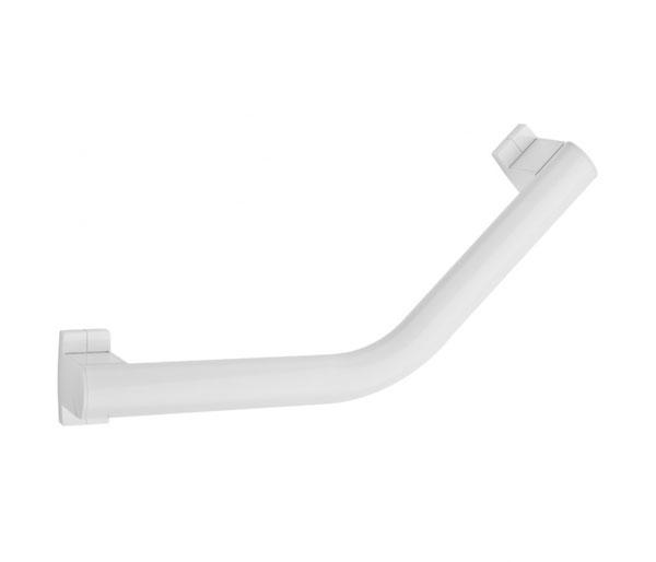 Arsis White 232mm Angled Grab Bar