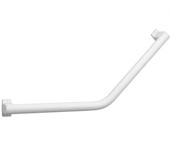 Arsis White 418mm Angled Grab Bar
