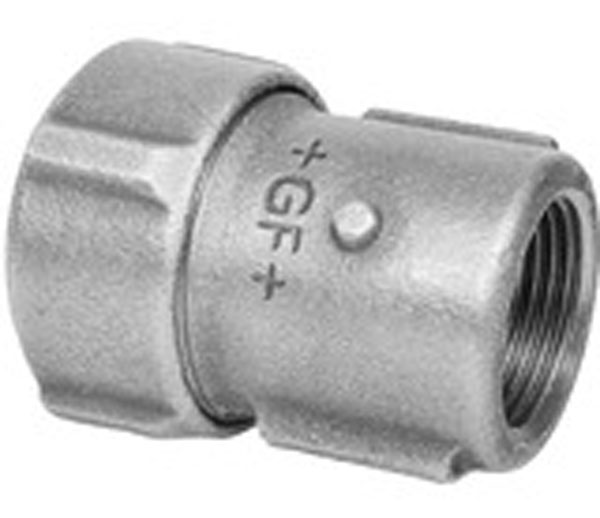 Primofit Gas Plas Mdpe Female Adaptor 63X2\