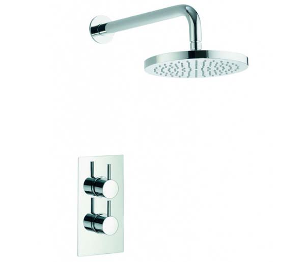 Arco Shower Pack with Valve and Fixed Head