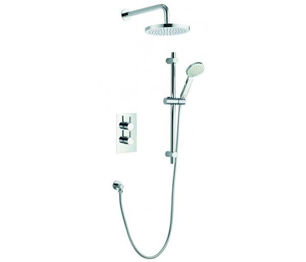 Arco Shower Pack - Valve_Slide Bar_Overhead